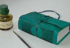 Interesting longstitch binding ~ The little green book via Flickr