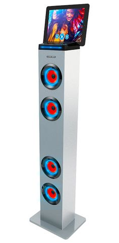 rogeriodemetrio.com: Bluetooth Stereo Speaker com luzes LED