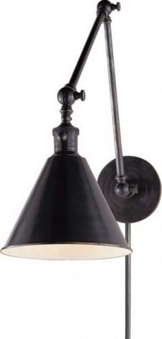 Boston Functional Library Two-Arm Wall Light - traditional - wall sconces - Circa Lighting