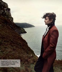 18th Century-Inspired Menswear - The Heathcliff Menswear Fashion Shoot is Romantically Chic (VIDEO)