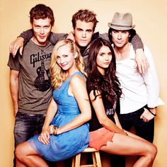 VAMPIRE DIARIES! Replace Stefan with Jeremy and you'd have everyone on the show I still give a shit about.