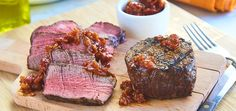 Beef Filet with Bacon Jam