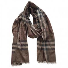 Burberry scarf in time for autumn