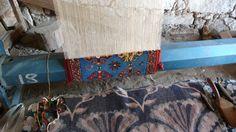 Carpet making at Dobag