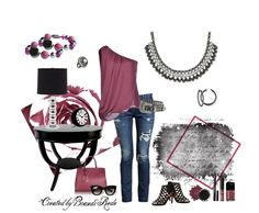 Elle necklace, Mulberry bracelets, Real Find earrings and Jazz ring