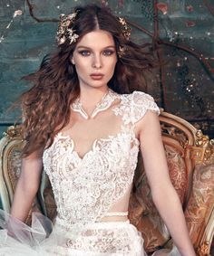Did you know that all our gowns are fully hand made? Our Belle gown is the perfect result of thousands of hours working on with luxurious lace and embroideries, and detailed in Swarovski pearls! A pure treasure ! #GaliaLahav #LRB