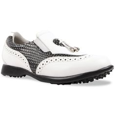 In the market for new golf shoes? Lori's Gold Shoppe carries a selection of cool stylish golf shoes for women. Check this one out -->  Blackstone Sandbaggers Ladies Madison II Golf Shoes