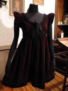 Puff Sleeve Babydoll Dress~Laura Flook