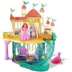 Disney Princess The Little Mermaid Castle Play Set: Dolls & Dollhouses : Walmart.com #DisneyPrincessPlay #cbias #shop