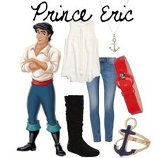Disney Fashion by @CourtDawggg   on Polyvore Prince Eric outfit