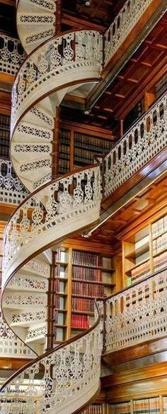 Amazing Library in Florence, Italy ♥✤ | KeepSmiling | BeStayClassy ✈✈✈ Here is your chance to win a Free Roundtrip Ticket to Florence, Italy from anywhere in the world **GIVEAWAY** ✈✈✈ https://thedecisionmoment.com/free-roundtrip-tickets-to-europe-italy-florence/