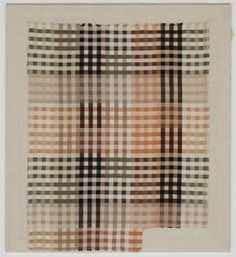 Tablecloth fabric sample MoMA | The Collection | Anni Albers. (American, born Germany. 1899–1994)