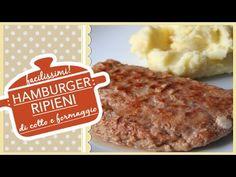 Hamburger ripieni di cotto e formaggio - YouTube