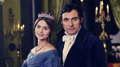 VICTORIA JENNA COLEMAN RUFUS SEWELL as Melbourne