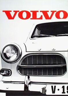 Design is fine. — Erwin Meienhofer, artwork for two Volvo posters,...