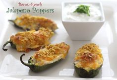 Bacon-Ranch Jalapeno Pepper Poppers