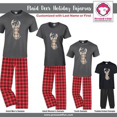 7fc5d4778 25 Best Matching Christmas Pajamas   Family Outfits images ...