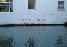 Lol too perfect #GlobalWarming #YeahItsReal #Science
