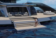 Yacht Design, Boat Design, Vertical Wind Turbine, Yachting Club, Maui Travel, Cool Sports Cars, Super Yachts, Motor Yacht, Speed Boats