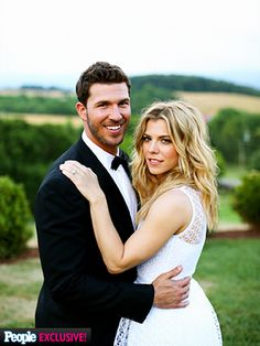 KIMBERLY PERRY & J.P. ARENCIBIA  | It was a celebration down South for The Band Perry singer and Texas Rangers catcher, who tied the knot on June 12 in Greeneville, Tennessee. Friends like Carrie Underwood, Blake Shelton and Miranda Lambert attended the intimate gathering in the bride's hometown. It was a fitting location: After meeting at the Florida Strawberry Festival in 2012, the pair got engaged last year under an oak tree in the backyard of her family's ...
