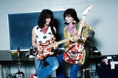 Eddie Van Halen and wife Valerie Bertinelli