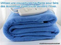 Produit Malin : La Couverture Chauffante Pour Ne Plus Avoir Froid Au Lit. Towel, Plus Jamais, Tips, Money Saving Tips, Heated Throw Blanket, Saving Money, Winter, Counseling