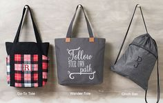 August Specials! THREE bags at 50% off! www.getmorebags.com