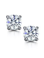 Tiffany Solitaire Diamond Earrings My Wish List Pinterest And