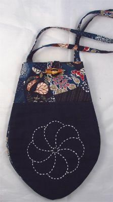 bag with sashiko