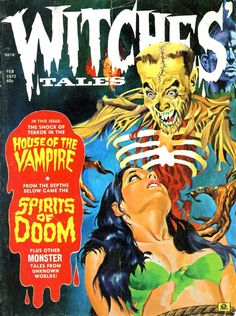 Witches' Tales. Feb. 1972.