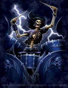 Rock Drummer-- hmm---- deadbeat?