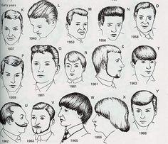 1920's Gentlemen's Hairstyle Barber Barbering Guide 11