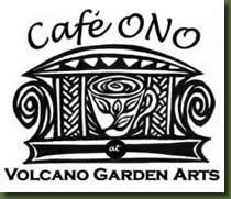 Cafe Ono ('ono' means delicious in Hawaiian), Big Island, Hawaii.