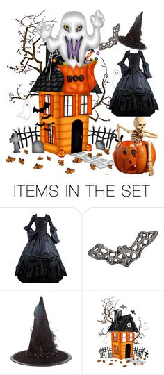 """""""Boo"""" by dhanutza90baby ❤ liked on Polyvore featuring art"""