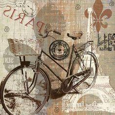 Vintage Stuff and Antique Designs Diy Crafts Vintage, Decoupage Vintage, Decoupage Paper, Vintage Prints, Vintage Posters, Vintage Art, Vintage Pictures, Vintage Images, Chalk Design
