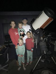 up on the rooftop at the hyatt maui for the stargazing tour