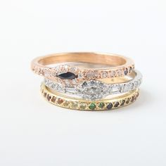 Elisa Solomon ombre eternity band