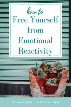 Powerful tools from Always Well Within​ to heal your emotional reactivity and find an inner calm. Free yourself from Emotional Reactivity. Emotional Rescue, Emotional Healing, Emotional Intelligence, Understanding Emotions, Feelings And Emotions, Best Meditation, Negative Self Talk, Self Compassion, Self Acceptance