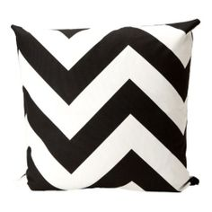 Brookneal Pillow, Black/White made by Elisabeth Michael