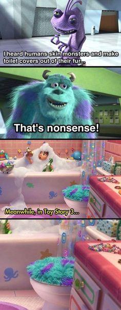 One of Pixar's darkest jokes.