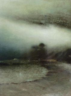 Tidal Edge Oil on Canvas 100x135cm by Richard Whadcock.