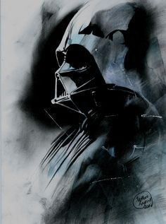 Star Wars - Darth Vader by Shelton Bryant