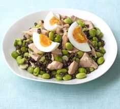 Packed with the kind of fat that is good for you, this makes a light yet still satisfying meal