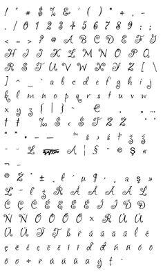 Mapa fontu akaFrivolity Math, Math Resources, Mathematics