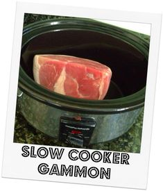 Cooking a joint of gammon in the slow cooker is easy peasy. Don't believe me? Then check this out Place your gammon joint in your slow cooker No need to add any stock or water as the meat will give off enough of its natural juices Then simply…