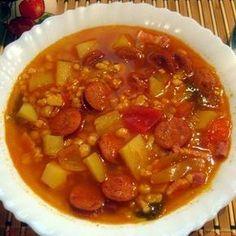 Soup Recipes, Diet Recipes, Vegan Recipes, Cooking Recipes, Hungarian Recipes, Hungarian Food, Ketogenic Recipes, Food 52, Keto Dinner