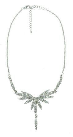 Dia A-line Necklace - Crystal $74.95  #leethal #accessories #fashion