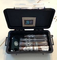 Inexpensive Travel Humidor!  How to convert a Pelican Case into a Humidor.  http://www.eod-gear.com/pelican-1060-microcase/