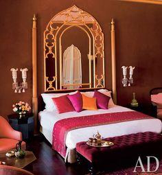 Mandarin Oriental Hotel Jnan Rahma.// this is how imagine princess jasmine's bedroom.