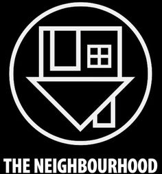 The Neighbourhood Logo by blackmeetswhite